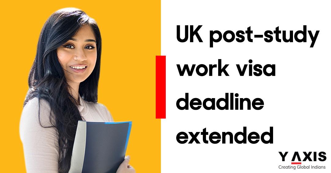 UK post-study work visa deadline extended